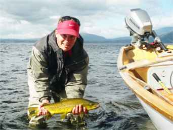 Angling report March 2002 Kingfisher Lodge fly fishing reports Lake Brunner